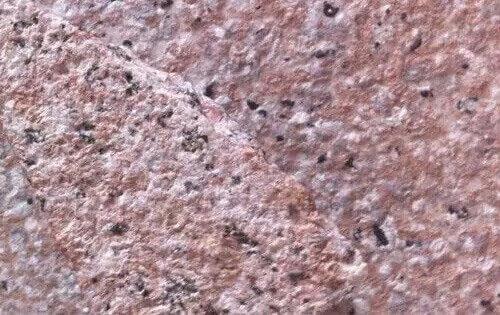 仿石漆毛面效果